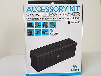 ematic Accessory Kit with Wireless Speaker