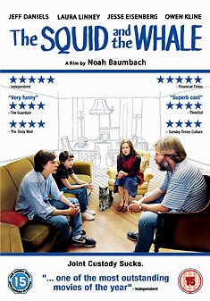 Squid And The Whale - Dvd - Region 2 Uk