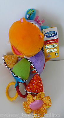 Playgro Hubert Hippo Pram and Stroller Toy (Last One) DISCOUNTED