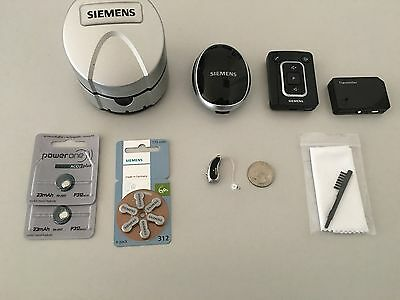 1xDigital Hearing Aid Siemens Pure Micon RITE Wireless Bluetooth Sets included