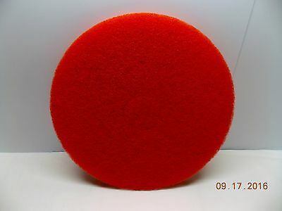 """Americo 16"""" Red Scrubbing Pads - Case Of 5 - New"""
