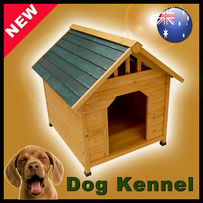 DOG KENNEL Pet Timber House Wood Wooden Cabin Cat PB017