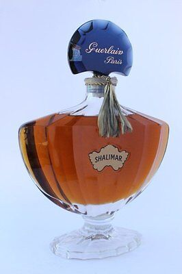 Very Rare Giant Store Display Guerlain Shalimar Perfume Factice Dummy Bottle.