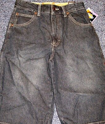 New Dickies black jean shorts boys sz 16 - color 914