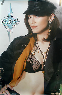 Rare Madonna Like A Prayer 1989 Vintage Orig Music Record Store Promo Poster