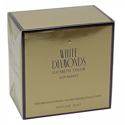 Elizabeth Taylor White Diamonds 150 g Perfumed Body Powder Puder
