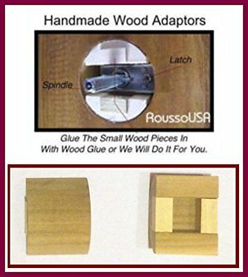 Our Original Retrofit Wood Adapters to Fit Your Antique Door Knobs in Modern 6