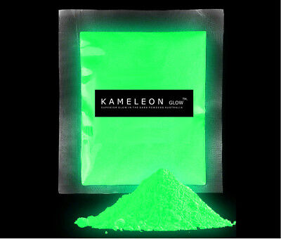 20G (Green) GLOW in the Dark Pigment Powder for Arts, Crafts, Paint, Soap Etc.