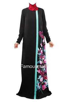 Dubai Kaftan  Maxi  Abaya Jilbab farasha Burkha Jubah Long party Ethnic Dress