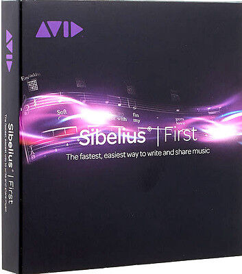 AVID Sibelius First (Brand new & Sealed)