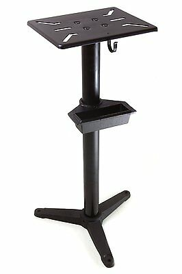 WEN 4288 Cast Iron Bench Grinder Pedestal Stand with Water Pot New Free Shipping