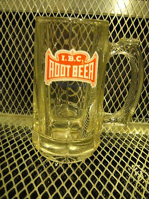 I.B.C. ROOT BEER ~ Still The Best ~ Glass Mug