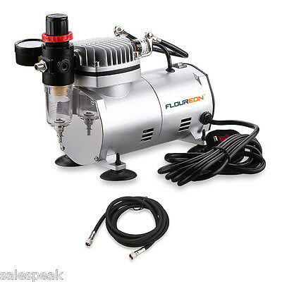 Professional Airbrush Compressor 1.5M Air Hose For Makeup Craftwork Spraying UK