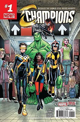 Champions #1 (2016) 1St Printing Bagged & Boarded