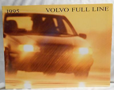 1995 Volvo Full Line Sales Brochure