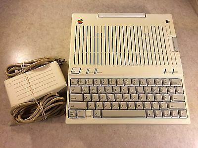Vintage Apple IIc //c Computer w/ Power Supply #2 (Tested & Working)