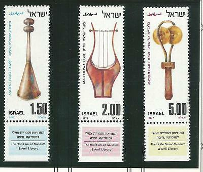 1977 Musical Instruments & Sabbath all with Tabs  MUH/MNH  As Issued