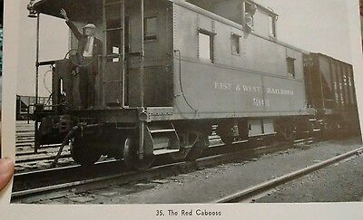 vintage train picture #35 The Red Caboose