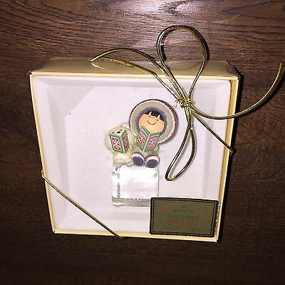Hallmark Ornament 1980 FROSTY FRIENDS 1st in Series COOL YULE In BOX with TAG