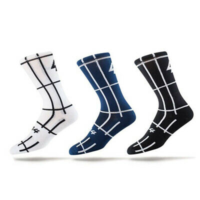 COOLMAX Cycling Socks - Length 20cm Black & White Available