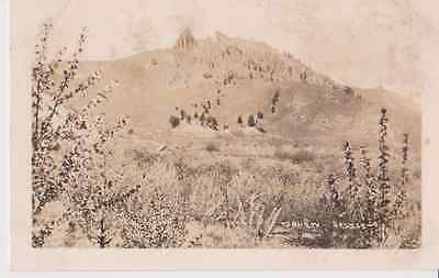 Squaw Saddle Wenatchee WA RPPC 1910 - 1920 Vintage Unused Postcard