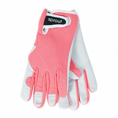 Sprout Goatskin Coral Pink Annabel Trends Ladies Garden House Gloves Osfa **new*