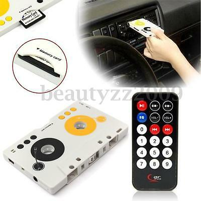 RC Tape Audio Cassette MP3 Player Adapter Kit DIY For Car Radio + Earphone 8GB
