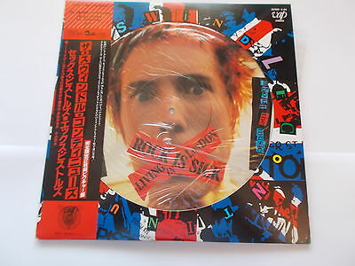 Sex Pistols Picture Disc Lp Japan Issue The Swindel Continues 1988
