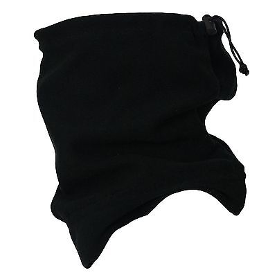 Unisex Snood Scarf Polar Fleece Neck Tube Warmer Thermal Hat Ski  UK POST