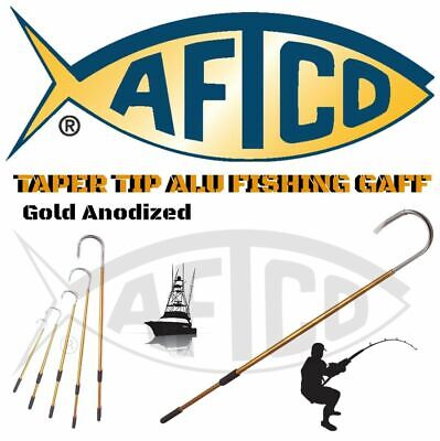 Aftco Gold Anodized Taper Tip Aluminium Fishing Gaff