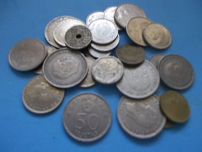 Job Lot Of 27 Coins From Spain Super Buy It Now Bargain [#949] Worth A Look