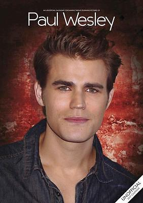 Paul Wesley 2017 Large A3 Poster Wall Calendar New & Sealed By Red Star