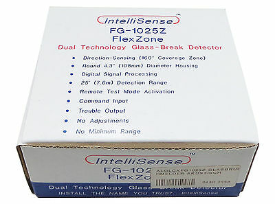 FG-1025Z Glass Breaking Sensor - Honeywell IntelliSense - Deckenmontage