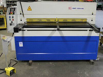 2014 Knuth Model KMT 1554 NC Swing Beam Plate Shear