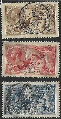 Great Britain #179-181 used