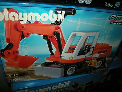Playmobil City Action Bagger 4-10 Jahre Nr. 6860 OVP