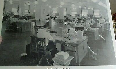 vintage train picture #56 In a Railroad Office
