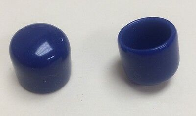 PVC Connector Cap, Blue