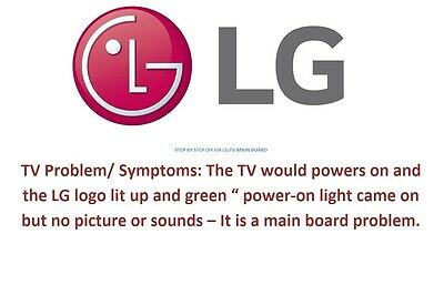 how to fix the main board lg tv 55lw5600