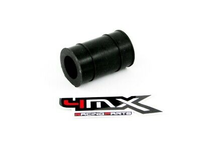 4MX EXHAUST TO MUFFLER SILICONE RUBBER SEAL 2 STROKE  22mm BLACK