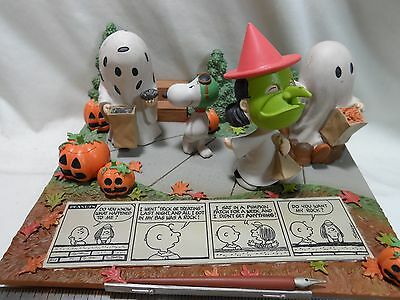 2016 Hallmark I Got A Rock Limited Edition Figurine Great Pumpkin