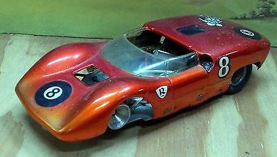 RUSSKIT McLAREN BODY, CHASSIS UNKNOWN, 1/24 SCALE VINTAGE SLOTCAR