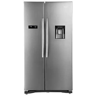 Hisense RS723N4WC1 A+ Rated Frost Free American Fridge Freezer Stainless Steel