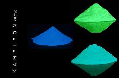60G Multi colour glow in the dark Pigment Powder for Arts, Paint, Soap Etc