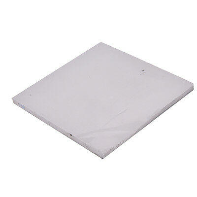 Grey GPU CPU Heatsink Cooling Thermal Conductive Silicone Pad 100mmx100mmx5mm gt