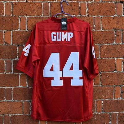 Forrest Gump #44 University of Alabama Football Stitched Red Movie Jersey M-3XL