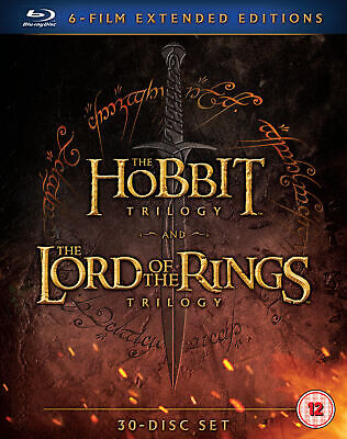 Middle Earth – Six Film Collection Extended Edition [2016] (Blu-ray)