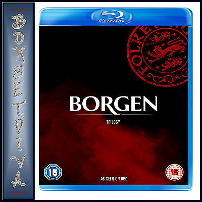 Borgen Trilogy - Complete Seasons 1 2 & 3 **Brand New Bluray**