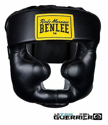 Benlee Rocky Marciano Casco Boxe Full Face Protection Caschetto Mma Muay Thai