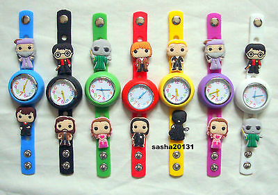 Harry Potter Jibbitz Band Watch  & A Set Of 10 Charms, Brand New